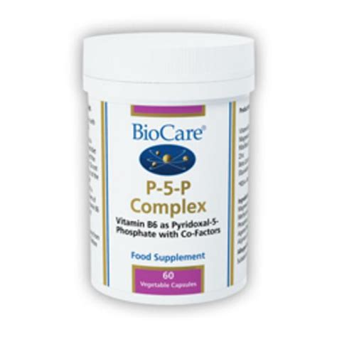 p supplements p 5 p supplement in 60vegcaps from biocare