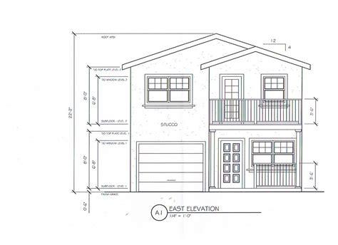 Attractive Four Unit Apartment Building Plans #1: Duplex-elevation.jpg