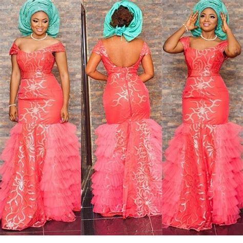 Aso Ebi Wedding Guest Pictures | fashion gallery wedding guest aso ebi amillionstyles19
