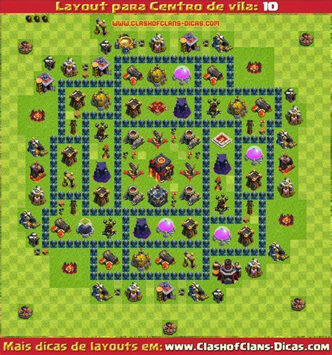 download layout for clash of clans layouts de centro de vila 10 para clash of clans clash