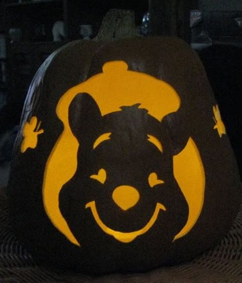 winnie the pooh pumpkin carving templates 25 best images on pumpkins