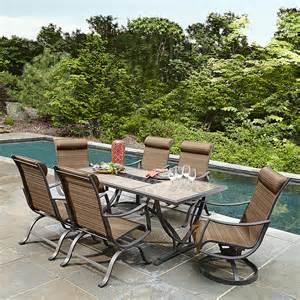 Ss k 233nrset palmetto 7 piece patio dining set sears outlet