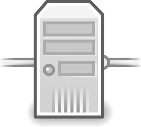 server drawing network server free vector in open office drawing