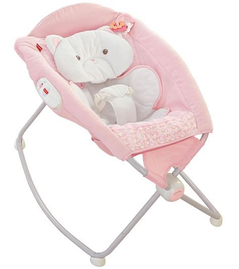 Sleeper For Newborn by Fisher Price Snugakitty Deluxe Newborn Rock N