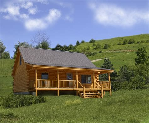 pictures of front porches on log homes