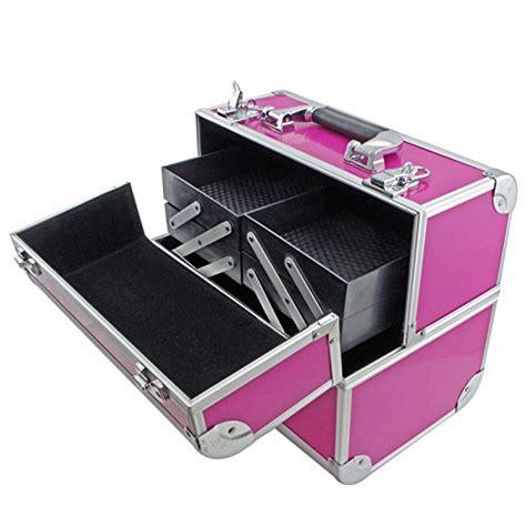 B082 Pink 1 sra cases en ac fc b082 pk make up cosmetic vanity