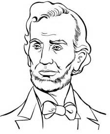 abraham lincoln coloring page pin by pornthipa phasiri on coloring page