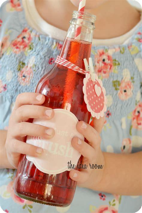 valentines crush bottles