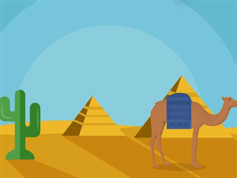 Egyptian Historical Slide Powerpoint Templates Blue Powerpoint Presentation Slides