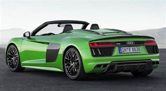 official 2018 audi r8 spyder v10 plus