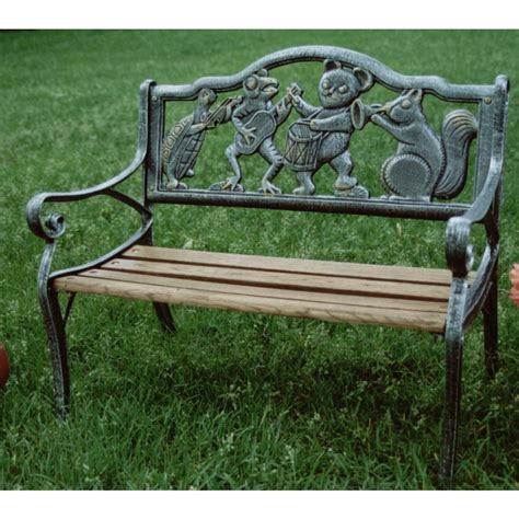 outdoor decorative bench garden decorative outdoor bench with animal band design