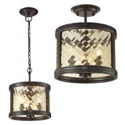 lantern ceiling light fixtures elk 31451 3 chandler rubbed bronze home ceiling