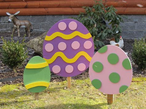 2d easter egg yard by backroadproductions on etsy