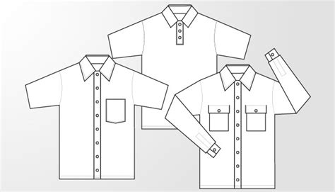Kaos Putih Dickies woven shirt and polo shirt template free t