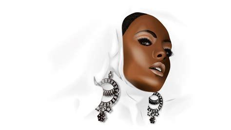 wallpaper black woman 3d black woman wallpaper 39999