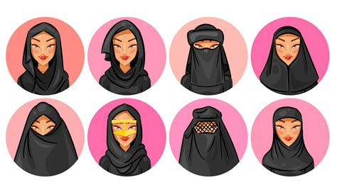 tutorial membuat niqab how to create a set of veil and hijab avatars in adobe