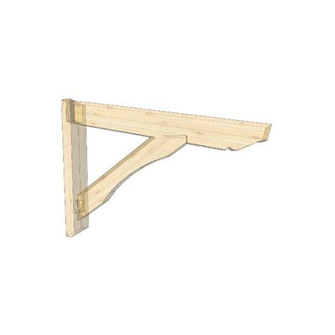 supporto per tettoia mensola per pensilina tettoia aranova legno system e