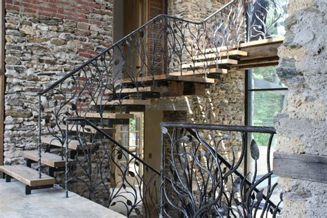 banister iron works handmade stair railing by artesano iron works home decor