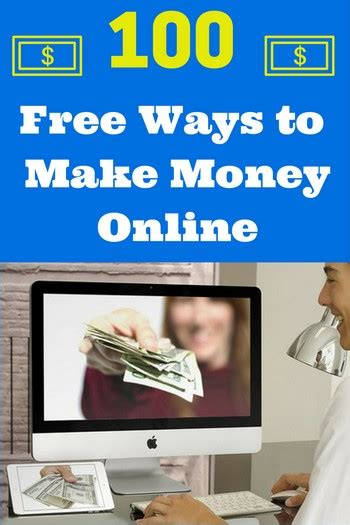 Online Money Making Free - 100 free ways to make quick money online moneypantry