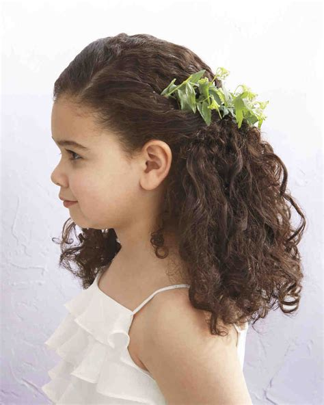 hairstyles for girl in wedding flower girl hairstyles that are cute and comfy martha