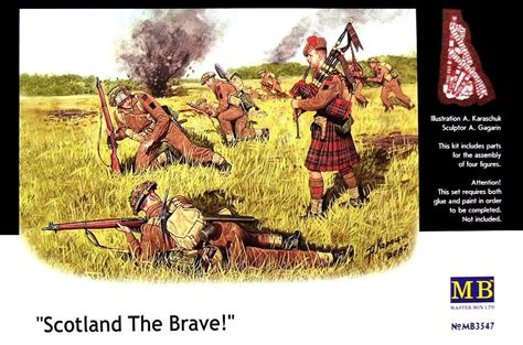 Scotland The Brave by Master Box 1 35 Quot Scotland The Brave Quot Panzer Models
