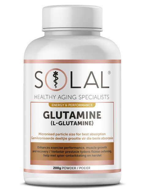 Detox From Glutamine by Glutamine Solal Vitamins Supplements