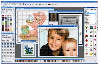 cross stitch pattern maker program free pcstitch premier cross stitch software
