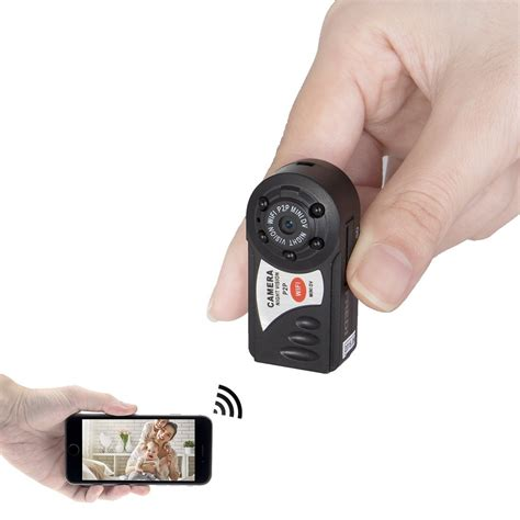 how to put a spy camera in the bathroom mini portable p2p wifi ip camera indoor outdoor hd hidden
