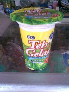 teh gelas bisnis toko kelontong