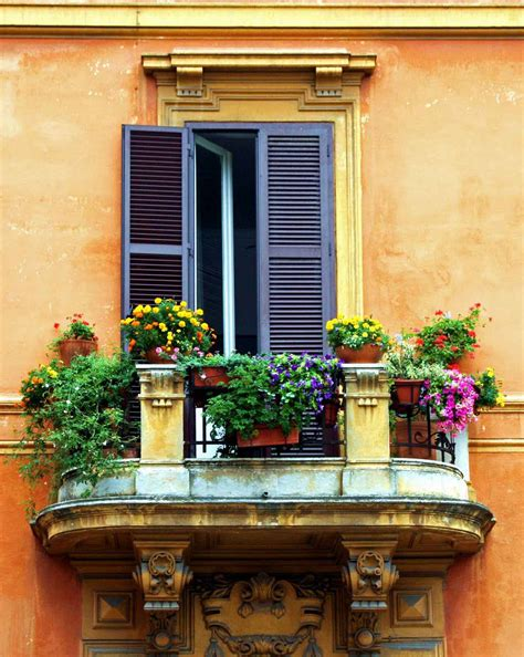 Italian Style Home Decor Balcony Flower Garden Decosee Com