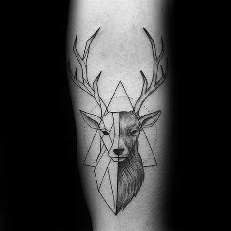 60 geometrische tier tattoo designs f 252 r m 228 nner