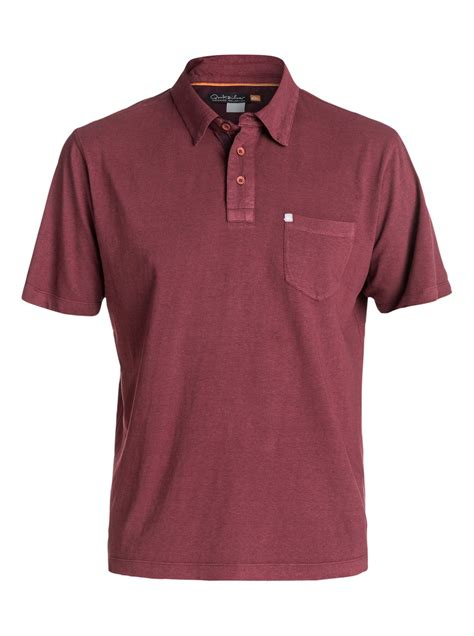 Polo Shirt Kaos Kerah Quiksilver 1 quiksilver waterman strolo polo shirt aqmkt03023 ebay