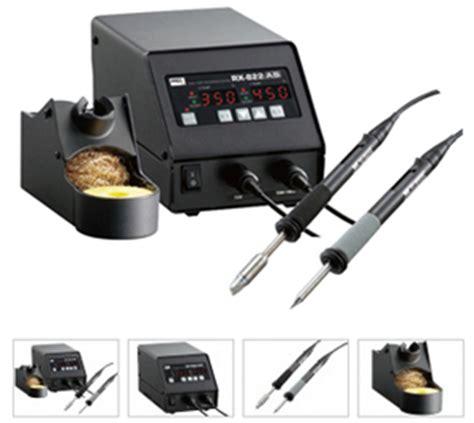 Goot Kyp 60 Dual Heat Soldering Iron Gun 20 60 Watt Solder Asli Japan dual port esd safe digital temperature controlled soldering station goot rx 822as supplier