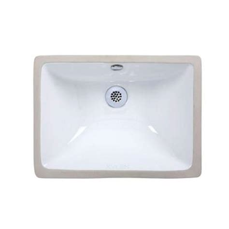 xylem bathroom sinks xylem undermount rectangular vitreous china sink white
