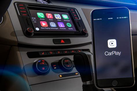carplay android mib ii volkswagens infotainment system unterst 252 tzt android auto apple carplay und mirrorlink
