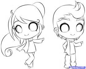 Beginner coloring pages chibi coloring pages