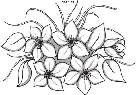dibujos para pintar flores en tela imagui dibujos de flores revista entretiene