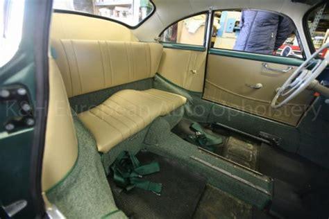 gallery porsche  coupe tan leather  green carpet