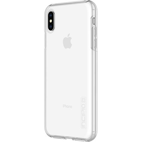 incipio dualpro for iphone xs max clear iph 1757 clr b h
