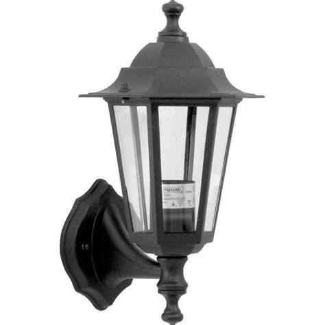 Historic Outdoor Lighting Style Lantern Black 60w Es Toolstation