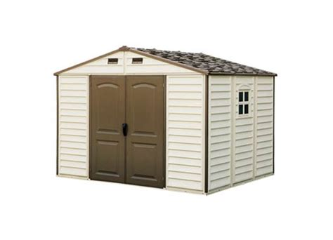rubbermaid 96 cu ft slide lid shed beige walmart