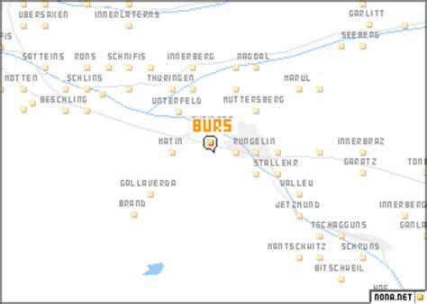 bürs (austria) map nona.net