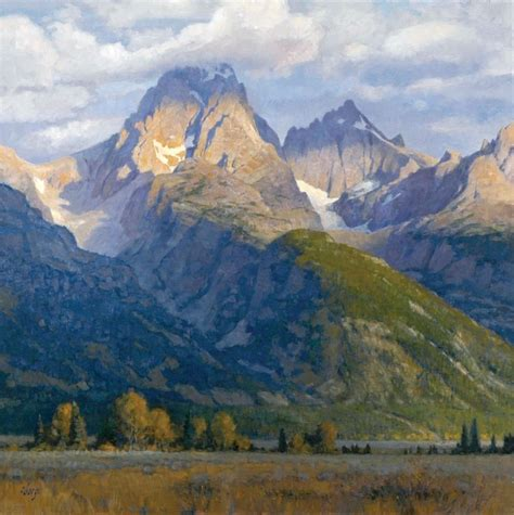 4505 best paintings mountains and streams images on