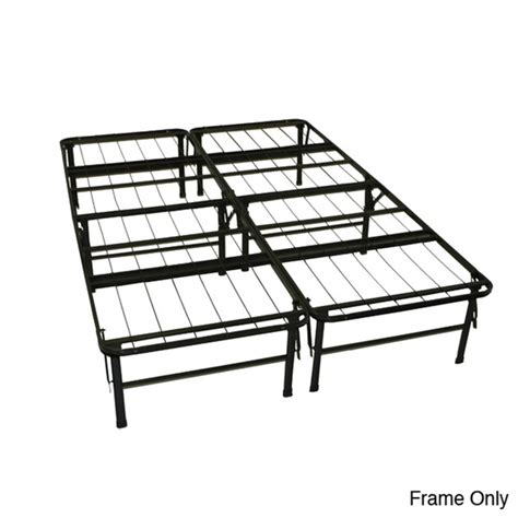 Folding Metal Bed Frame Greenhome123 Size Folding Metal Platform Bed Frame No Boxsprings Needed