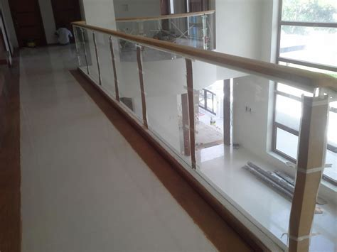 glass stair banisters and railings glass stair railing wrought iron railings philippines