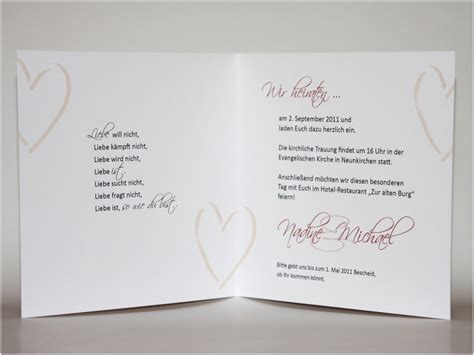 Einladung Zur Hochzeit by Text Fur Einladungskarten Hochzeit Thegirlsroom Co