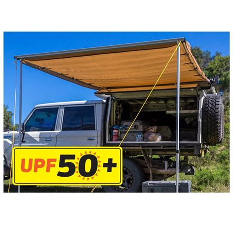 awning for 4wd 2 x 3m kings side 4wd awning upf 50 waterproof incl