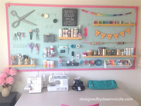 peg board ideas 10 craft room pegboard organization ideas dawn nicole