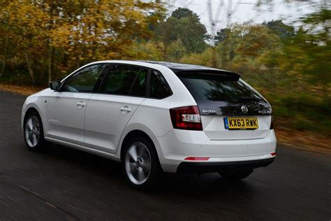 skoda rapid spaceback review pictures auto express