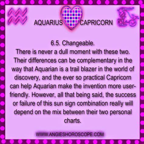 aquarius and capricorn quotes quotesgram
